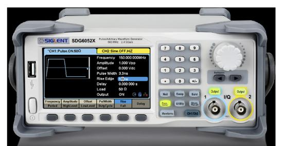 SDG6000Xシリーズパルス/任意波形発生器