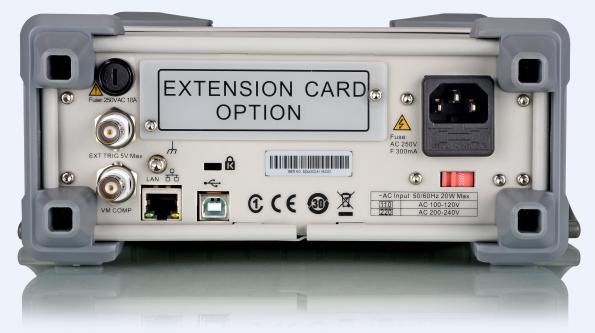 USBホスト&デバイス、LAN、GPIB(SDM3055Aのみサポート)