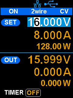 0.01%の負荷レギュレーション